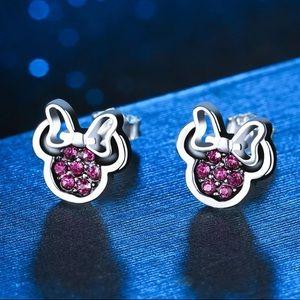 Jewelry - Sterling Silver CZ Stud Earrings